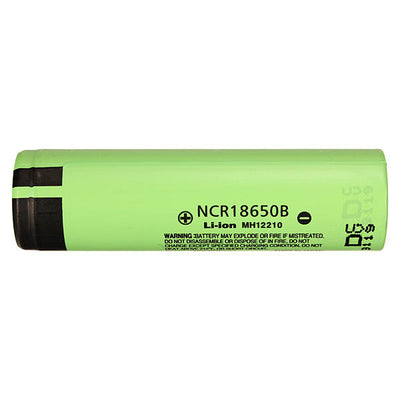 4pcs Panasonic NCR18650B 3400mAH Unprotected Rechargeable Lithium Battery