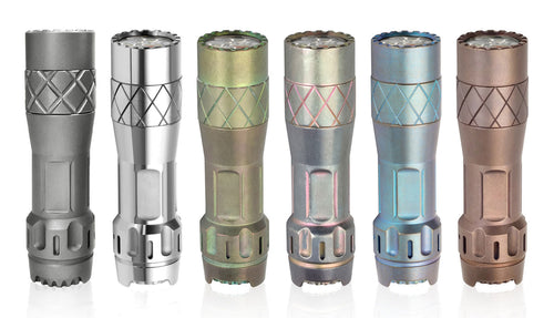 LUMINTOP LM10 10th Anniversary Titanium Flashlight