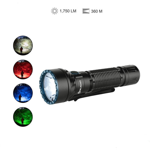 OLIGHT Freyr 1750lm 360m RGB Tactical LED Flashlight