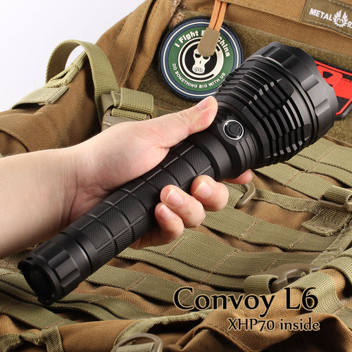 Convoy L6 XHP70.2 4300 Lumens LED Flashlight