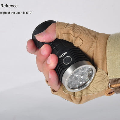 Fireflies ROT66 Nichia/XPL 10000 Lumens LED Flashlight New Anduril UI