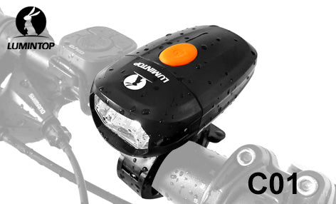 Lumintop C01 Rechargeable Versatile Bicycle Headlight Max 400 Lumens