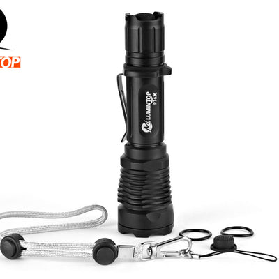 LUMINTOP P16X 670 Lumens 18650 Tactical Flashlight