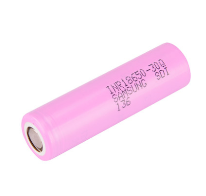 Samsung INR18650 - 30Q Flat Top 18650 3000mah battery 1PC.