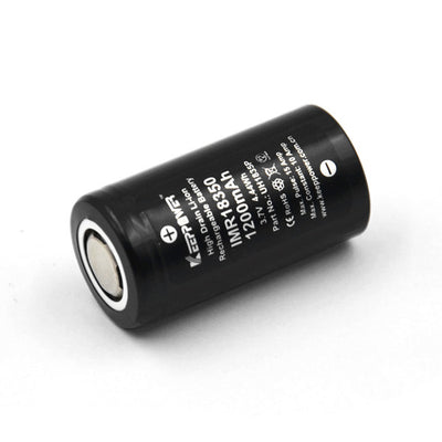 Keeppower IMR 18350 3.7V 1200mAh Battery 1PC