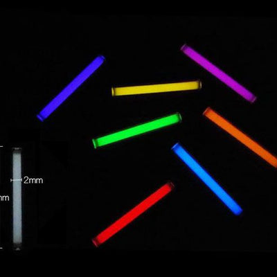 1pcs Trit Vials Tritium Multicolor Self-luminous 15-Years.