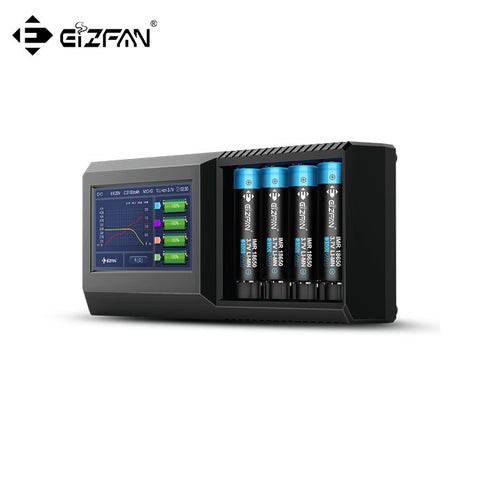 Efan Lux S4 Professional Touch Screen LCD Battery Smart Charger And Tester