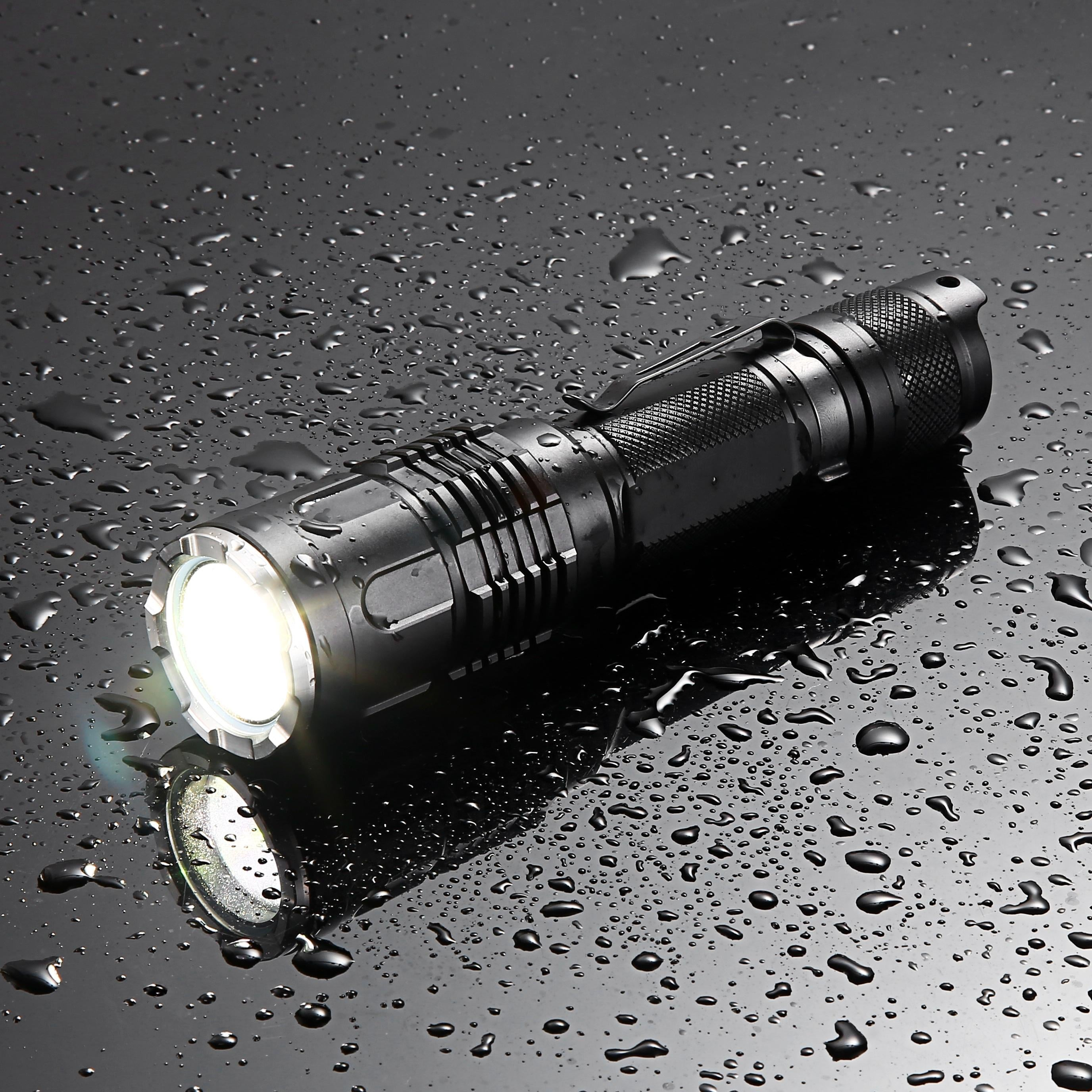 JETBEAM M2S WP-RX 480Lumens 1800m Tactical White Laser Flashlight