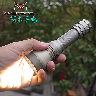 Amutorch VG10 Plus Cree XPL HD 1200lm/Philips LUXEON 2100lm 21700 Tactical Flashlight