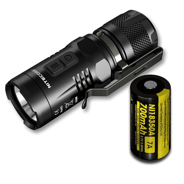 Nitecore Explorer EC11 CREE XM-L2 U2 LED 900 Lumens 18350 EDC Flashlight