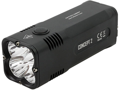 Nitecore CONCEPT 2 4 x XHP35 6500LM Led Flashlight