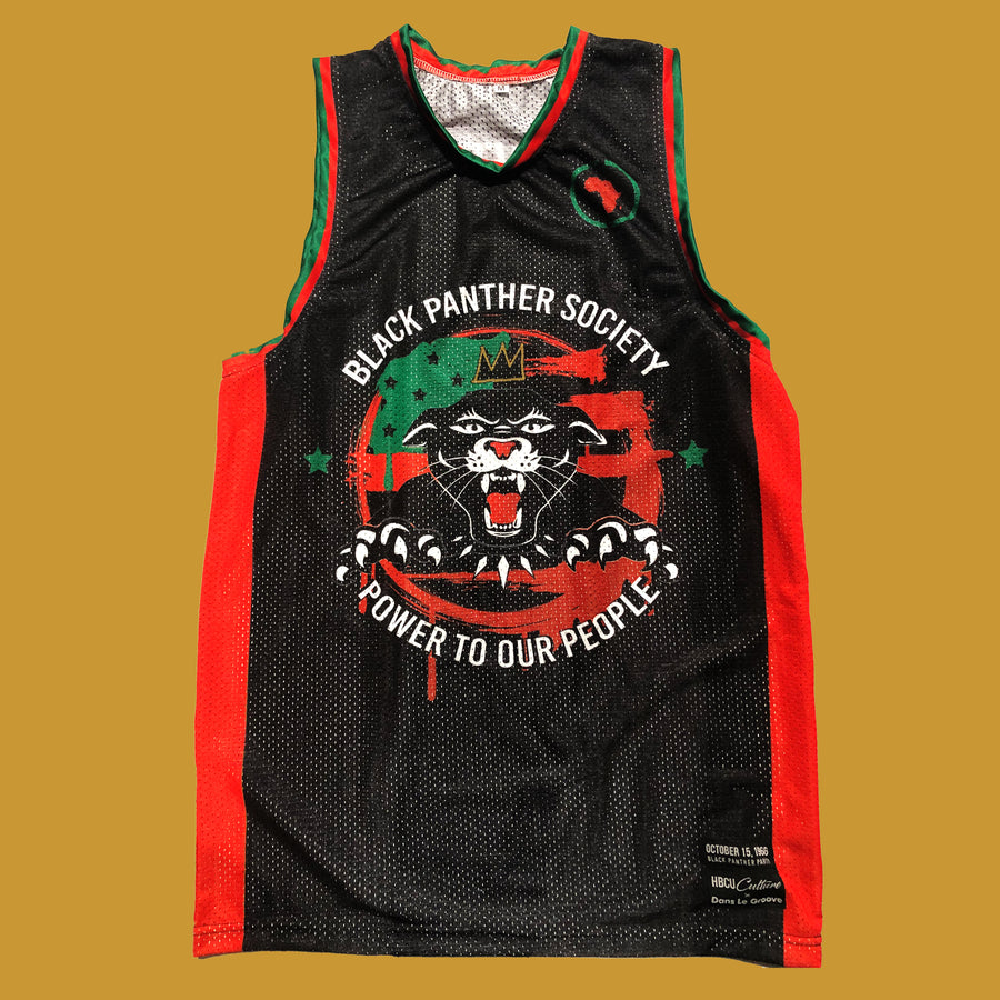Black Panther Basketball Jersey