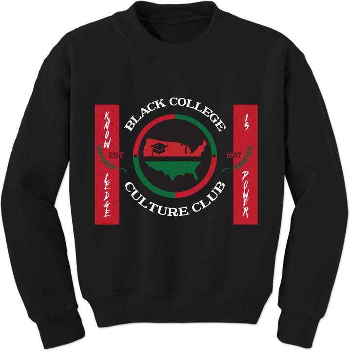 Black College Culture Club Sweatshirt