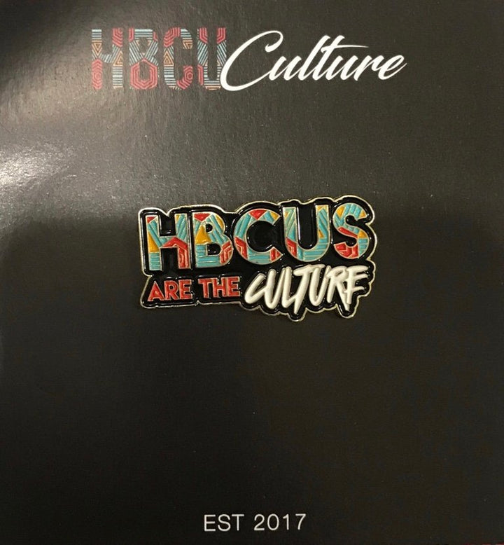 HBCUs Are The Culture Lapel Pin