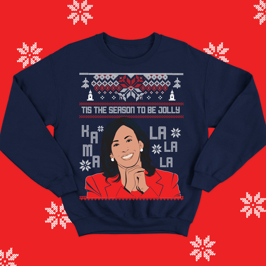 Kama-La-La Christmas Sweater