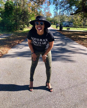 God Is Black & HBCUs Are Heaven T-Shirt