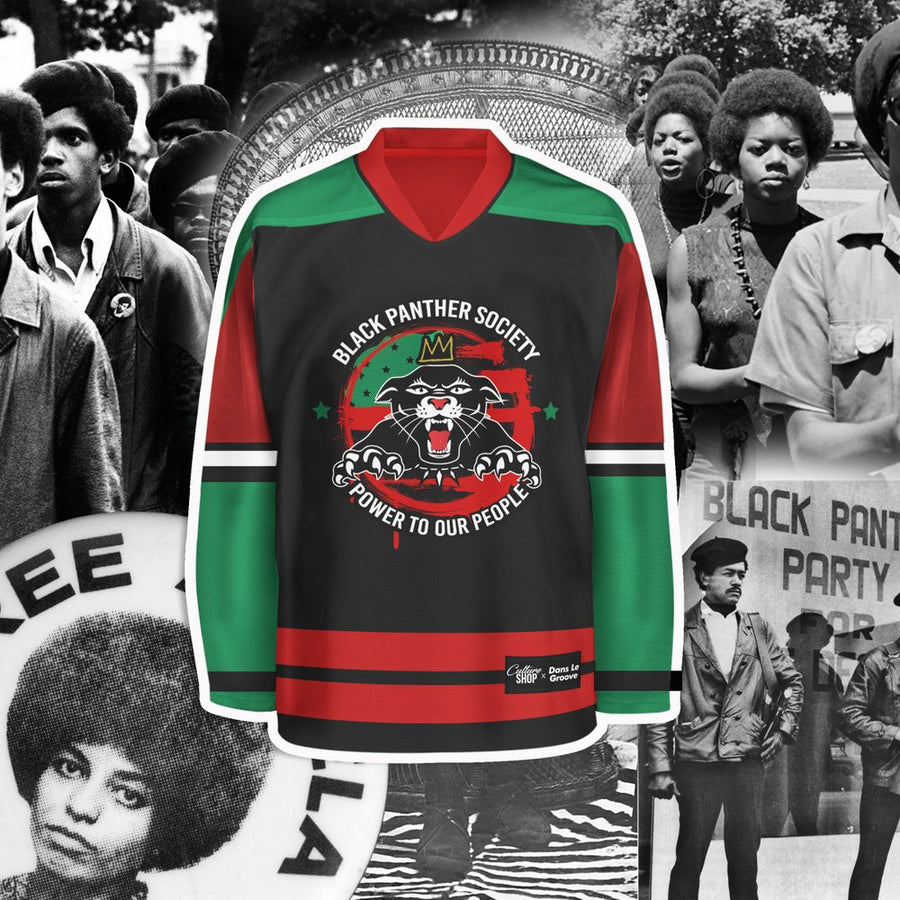 Black Panther Society Jersey