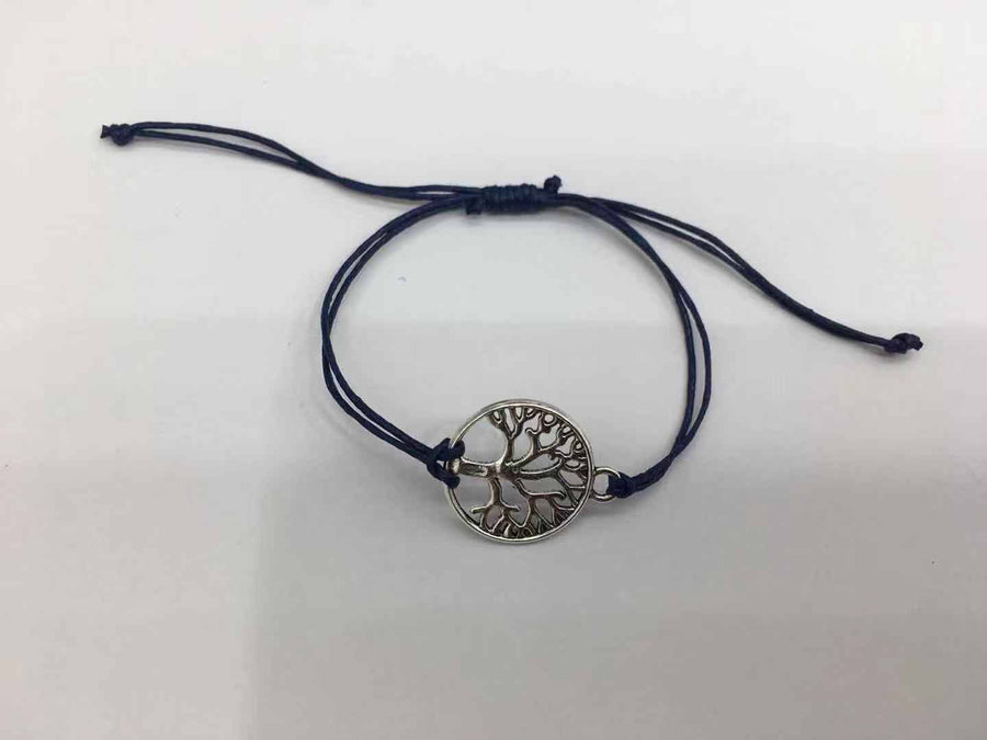 Recycled Tree Of Life Bracelet - Celebrate Blue Water