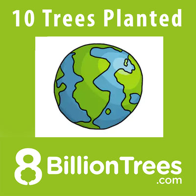 8 Billion Trees Sticker - Plant 10 Trees