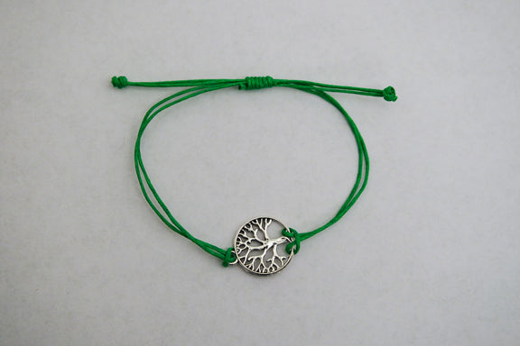 Recycled Tree Of Life Bracelet - Celebrate Green Forests