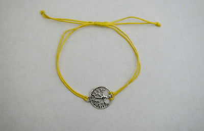 Recycled Tree Of Life Bracelet - Celebrate Golden Spruce Trees