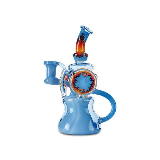 Black Sand Blue Recycler - Cloud9smokeco.com