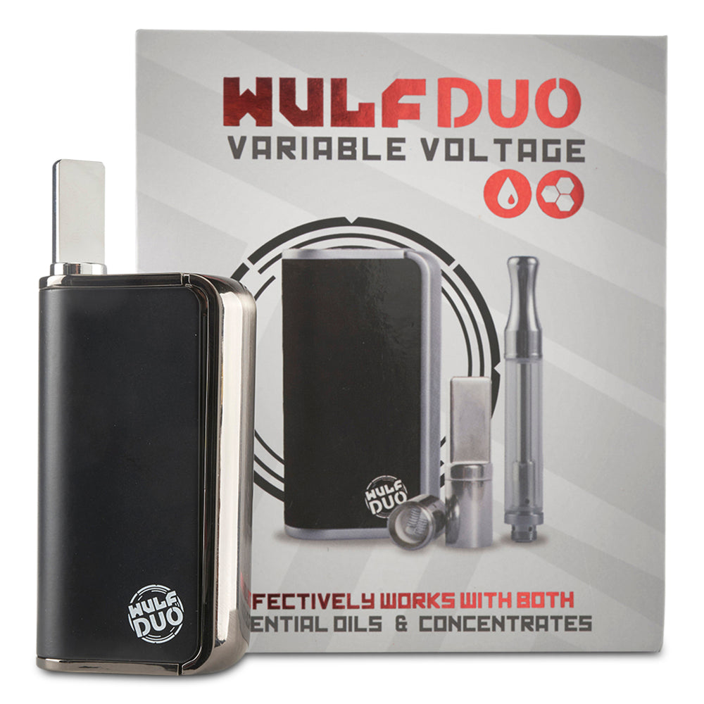 Wulf Duo 2 in 1 Cartridge Vaporizer - Cloud9smokeco.com
