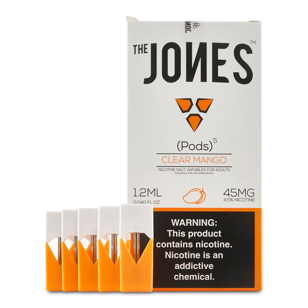 The Jones Pods - 1.2ml Juul Compatible Pods - Cloud9smokeco.com
