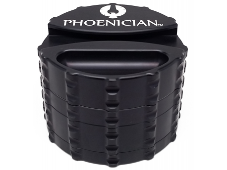 Phoenician Large 4pc Grinder With Papers Holder - Cloud9smokeco.com