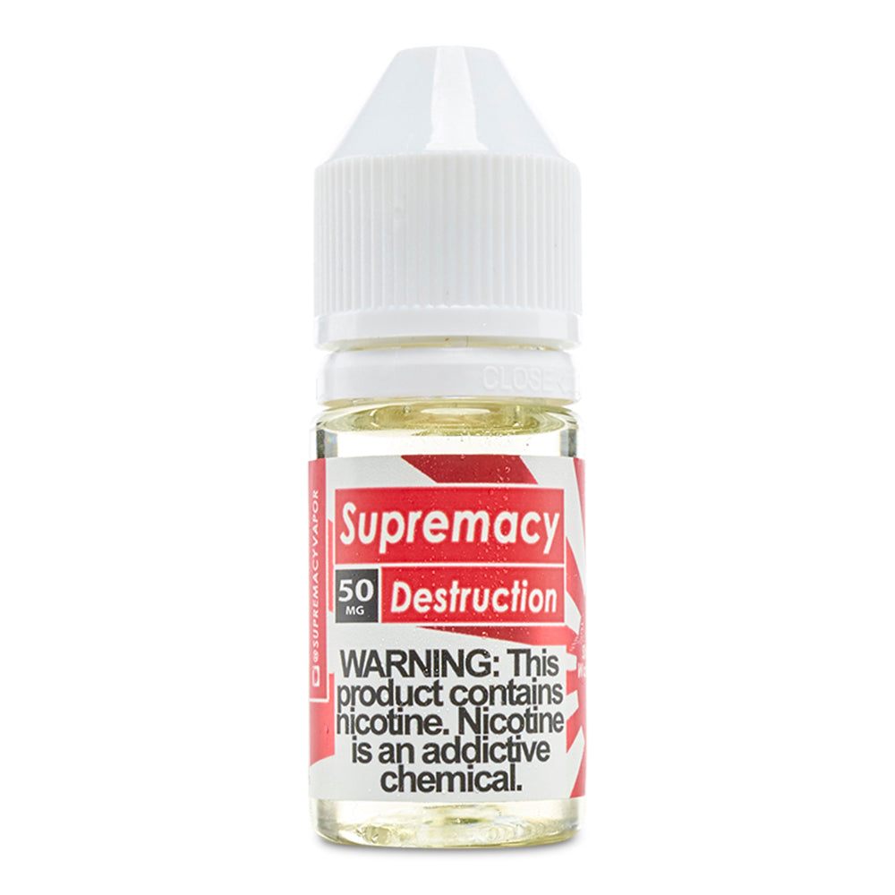 Supremacy Salt Nic Vape Juice - Cloud9smokeco.com
