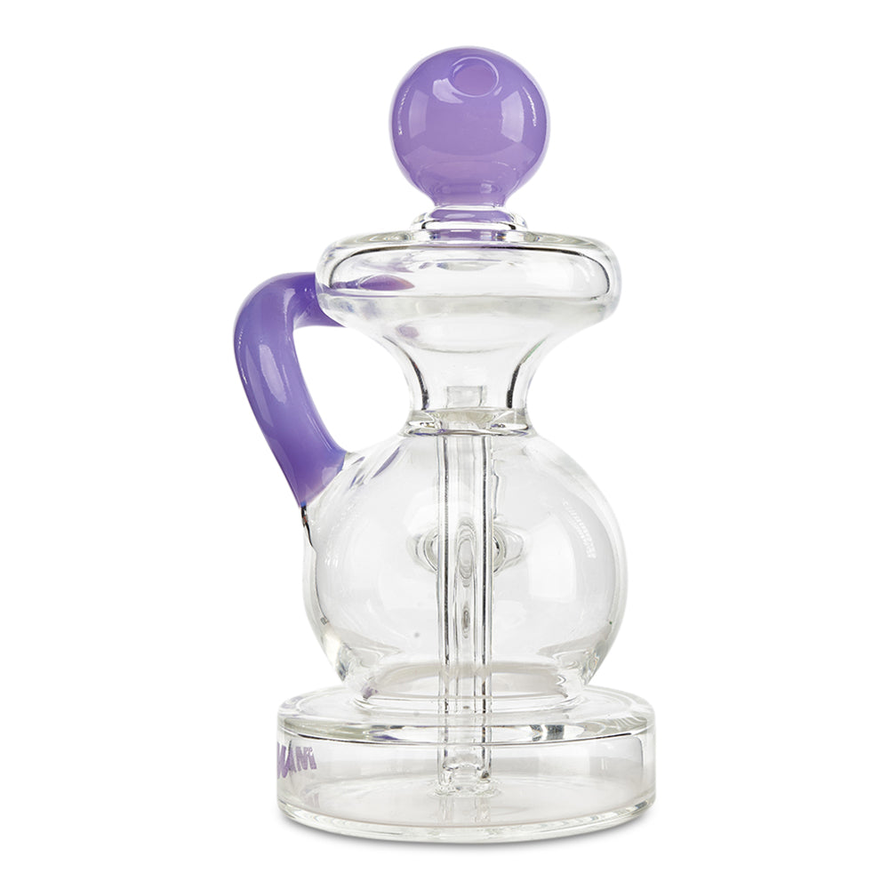 Mav Glass Ball Recycler (Purple) - Cloud9smokeco.com