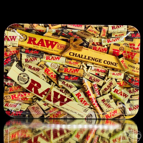 Raw large Rolling Tray - Cloud9smokeco.com