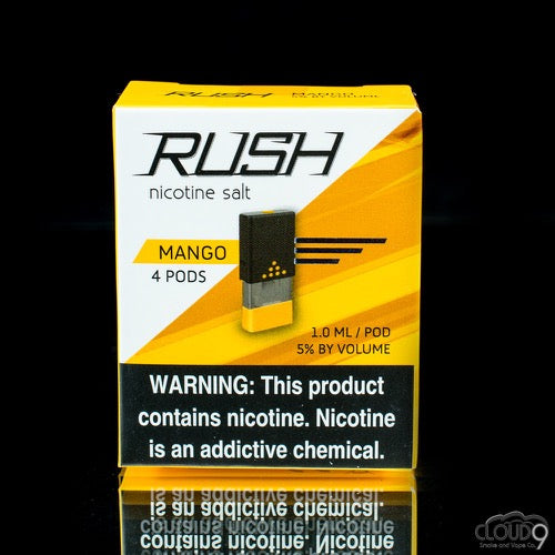Rush Pods Mango(4 Pack) - Cloud9smokeco.com