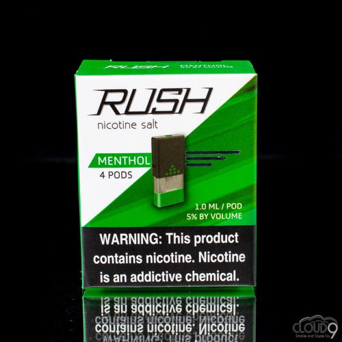 Rush Pods Menthol(4 Pack) - Cloud9smokeco.com