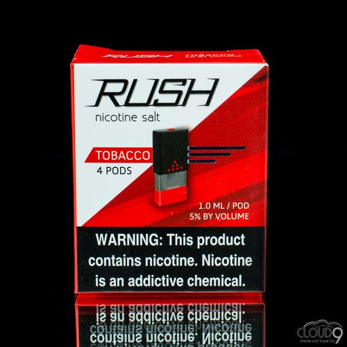 Rush Pods Tobacco(4 Pack) - Cloud9smokeco.com
