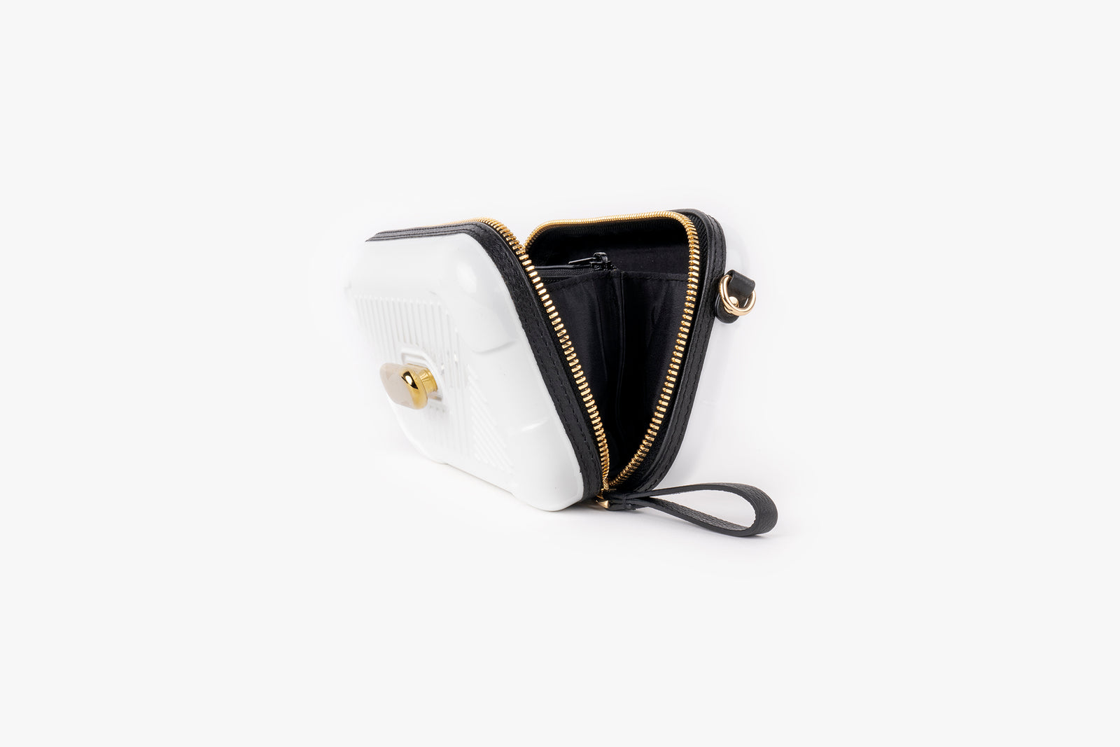 White Active Bag/Champagne