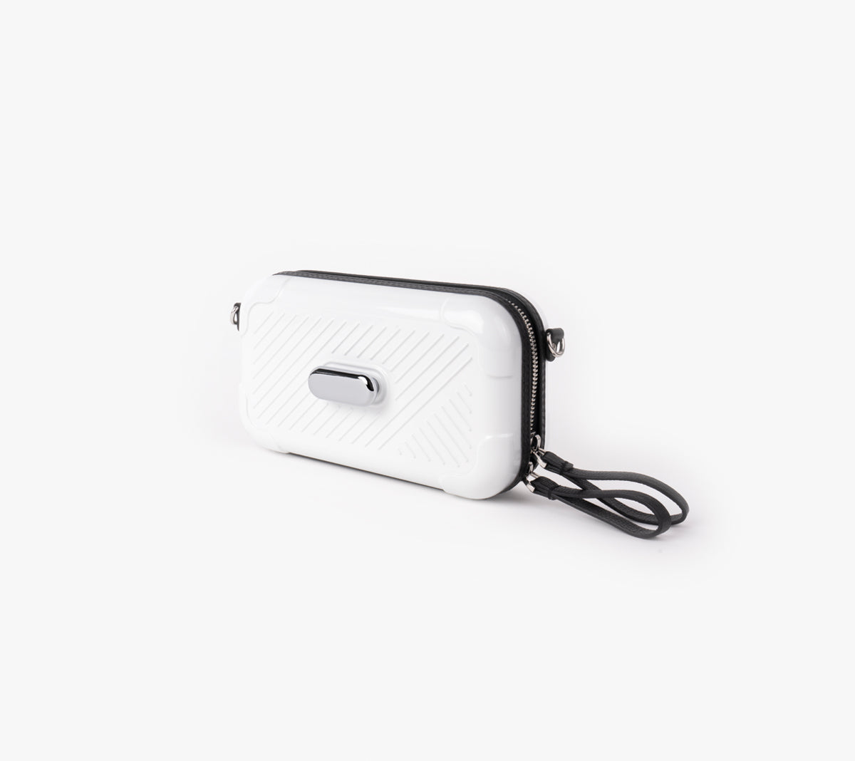 White Active Bag/Nickel