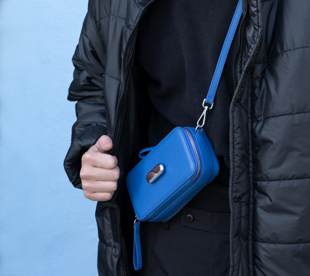 Essentials Bag in Electric Blue