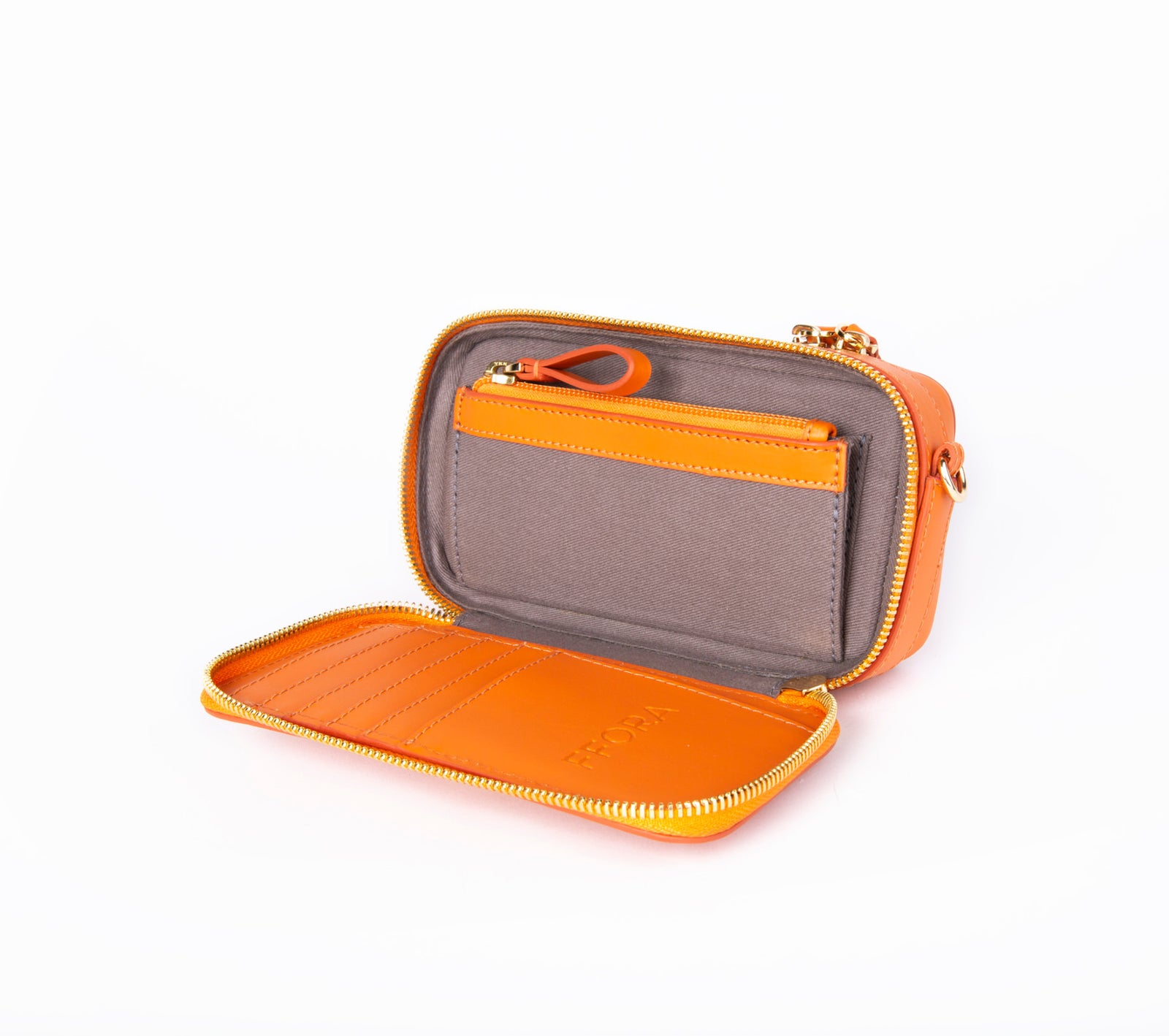 Essentials Bag in Tangerine