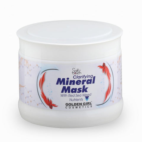 Mineral Mask Jar 500ml - Golden Girl Cosmetics