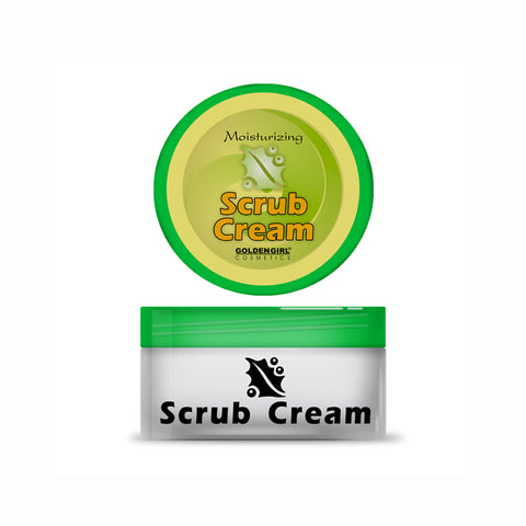 Scrub Cream  75ml - Golden Girl Cosmetics