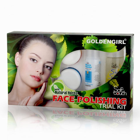 Face Polishing Trial Kit 7 items - Golden Girl Cosmetics