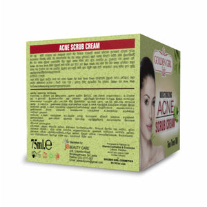 Golden Girl Acne Scrub Cream 75gm