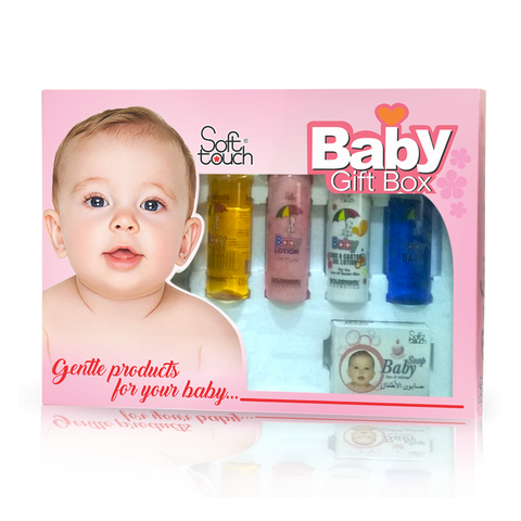 Baby Gift Box Large 8 Items - Golden Girl Cosmetics