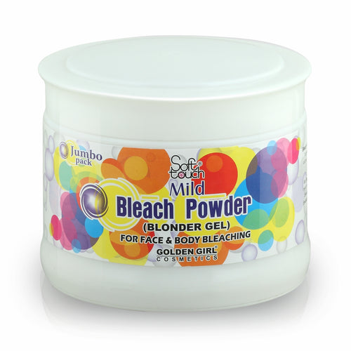 Bleach Powder is a newer method for bleaching hair. It must always be mixed with Oxidizing Emulsion to give you superior action. The choice of the Oxidizing Emulsion is very important as higher the volume stronger and quicker the bleach will be. Bleach Powder is fine-grained and super air floated to give you maximum spread.