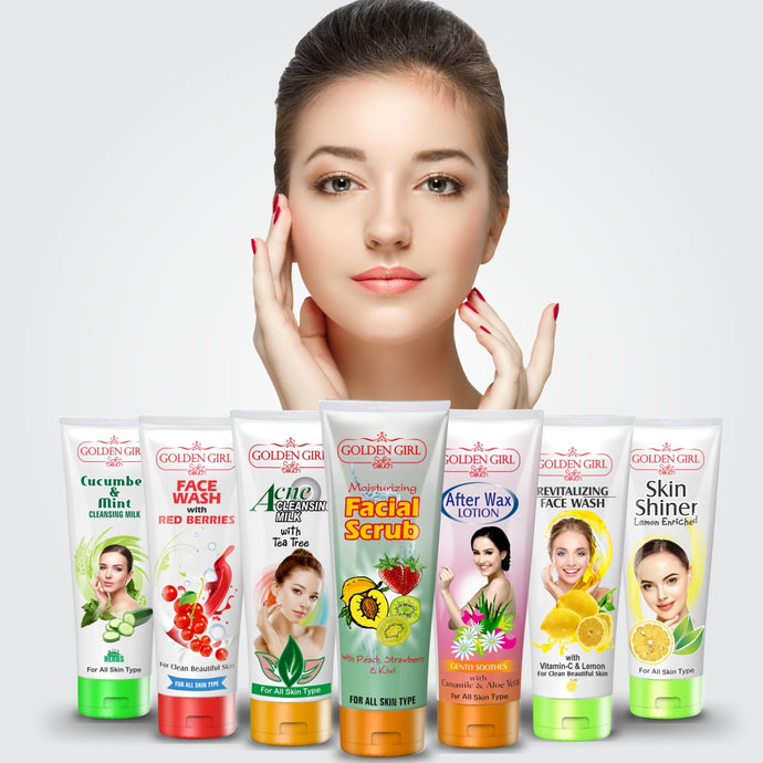 Facial Care Bundle (Pack of 7)