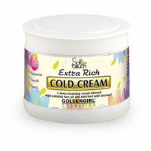 Load image into Gallery viewer, Cold Cream extra rich is concentrated cream made entirely from natural active ingredients. It rehydrates the skin by stimulating blood circulation to the epidermis and eliminating dryness completely. It nourishes the skin as it helps maintain smoothness and suppleness. Cold Cream extra rich contains natural beeswax, wool fat lanolin, corn oil and other nutritive substances which protect and moisturize against effects of harsh weather.