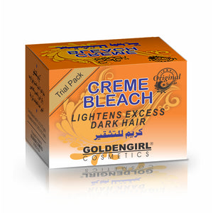 It quickly changes unwanted hair on any part of body to golden color matching with skin tone.