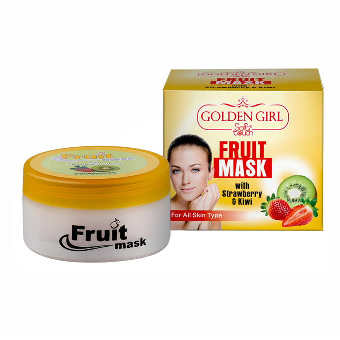 Fruit Mask: Five minutes energizing Fruit Mask is a light, cream-gel formula to give tired, lusterless complexions a refresh, radiant appearance. It helps to maintain elasticity, fights fine lines, wrinkles and strengthens resistance to environmental damage.