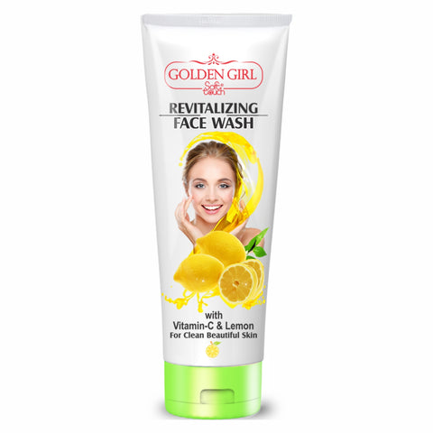 Revitalizing Face Wash with Vitamin C and Lemon 120ml - Golden Girl Cosmetics